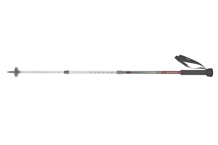 Kelty Snapshot trekking pole, silver, shown fully extended