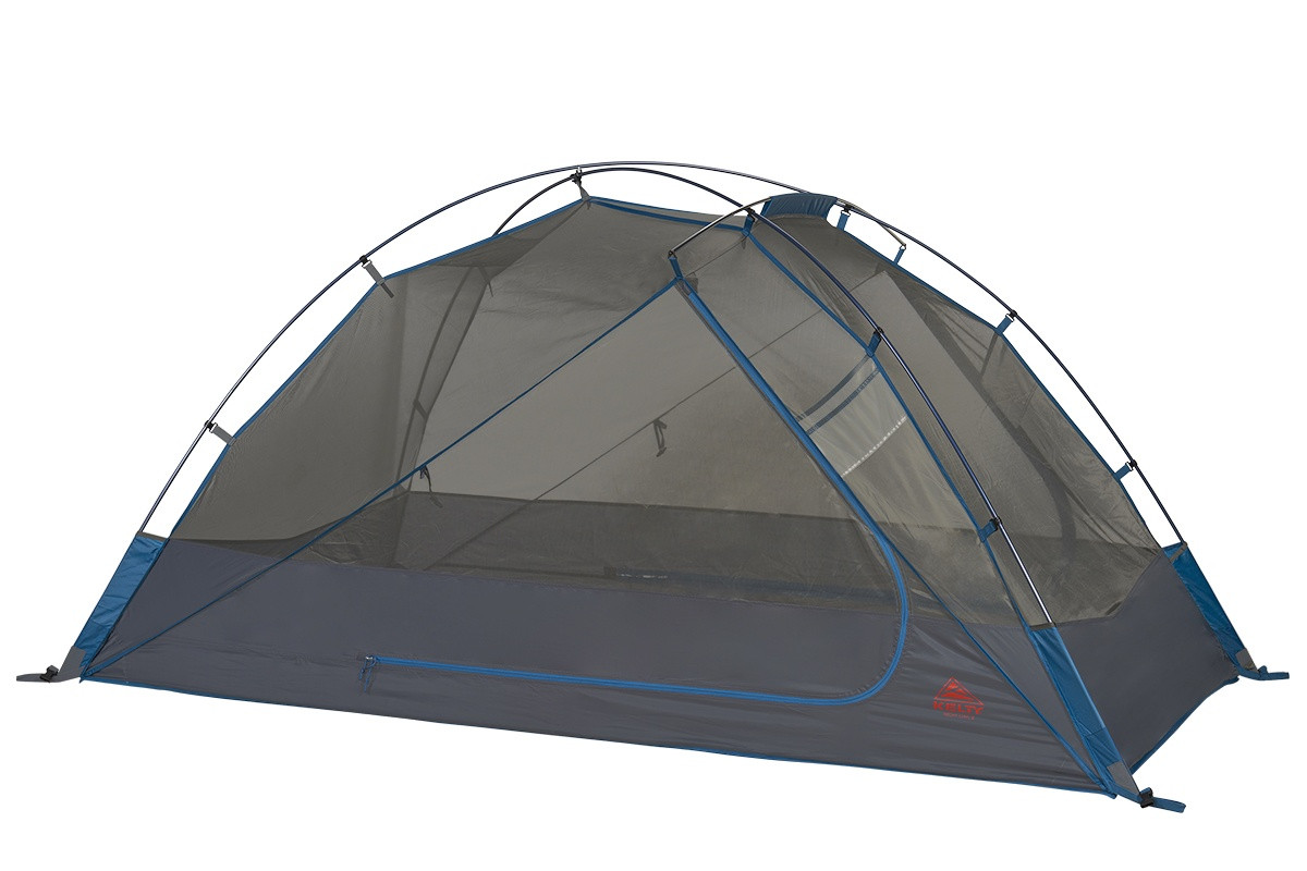 Kelty Night Owl 3 person tent, blue, with rain fly removed