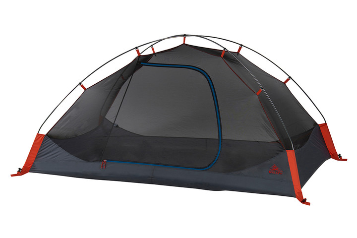 Kelty Late Start 2 person tent, dark gray, with rain fly removed