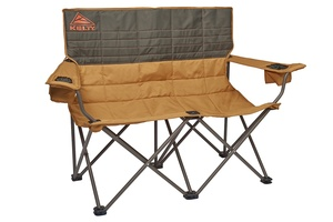 Kelty Loveseat 2-person camping chair, Canyon Brown, front view