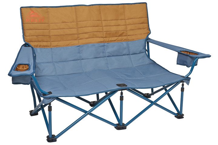 Kelty Low Loveseat 2-person camping chair, Tapestry, front view