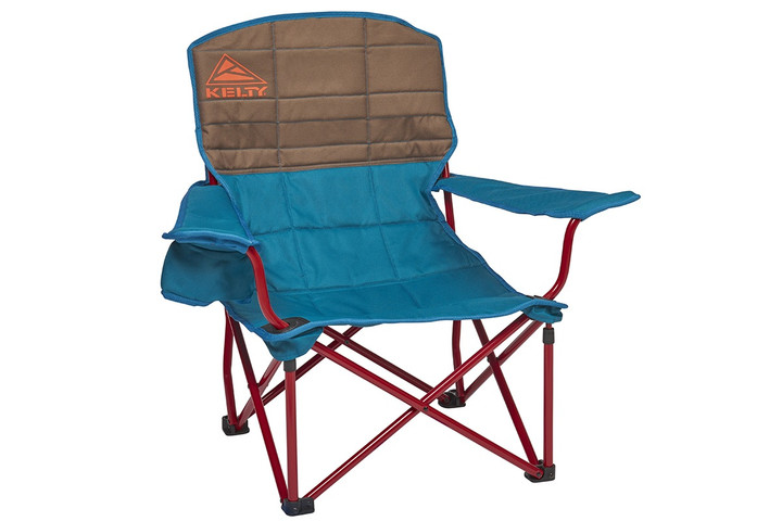 Kelty Lowdown camping chair, Deep Lake, front view