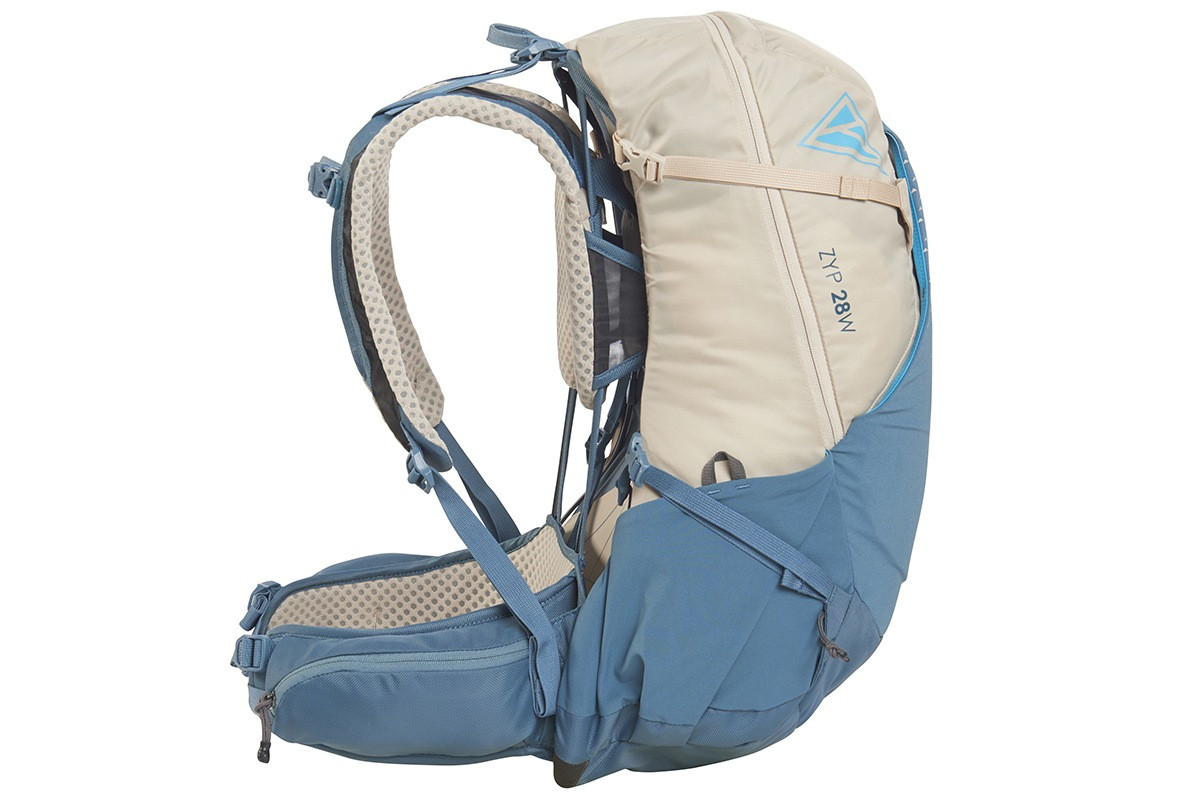 Kelty Women's Zyp 28 backpack, sand, side view