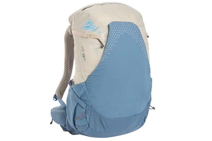 Kelty Women's Zyp 28 backpack, sand, front view