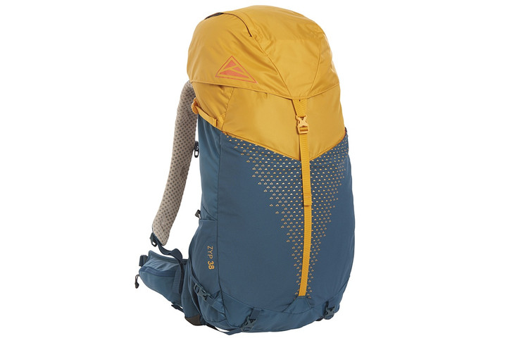 Kelty Zyp 38 backpack, Sunflower, front view