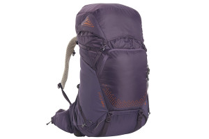 Kelty Women's Zyro 54 backpack, Nightshade, front view