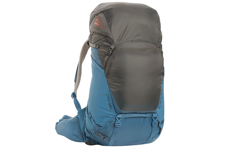Kelty Women's Zyro 64 backpack, Beluga/Tapestry, front view