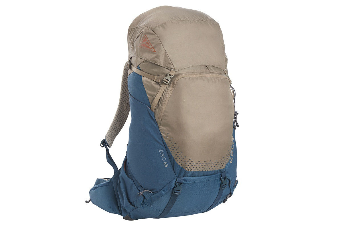 Kelty Zyro 68 backpack,  Fallen Rock/Reflecting Pond, front view