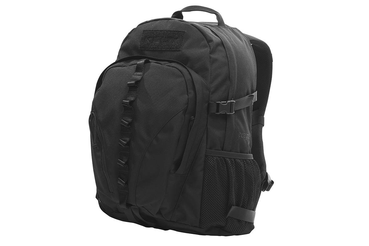 Kelty Peregrine 1800 backpack, black, front view