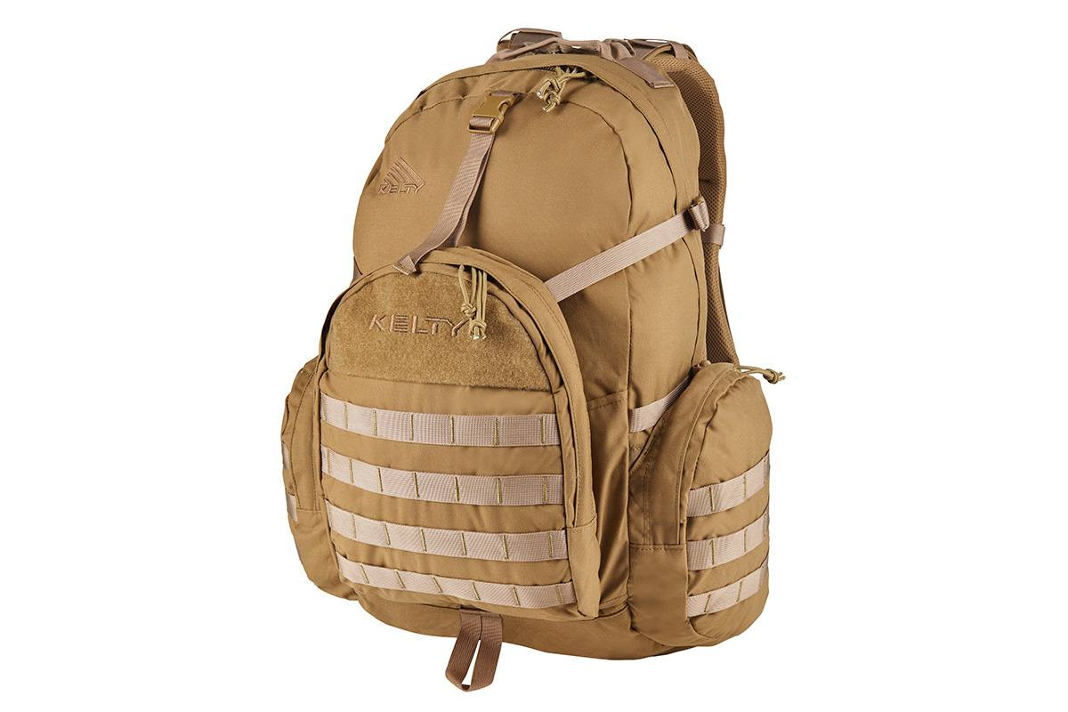Strike 2300 USA backpack, Coyote Brown, front view