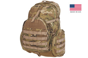 Strike 2300 USA backpack, multicam, front view
