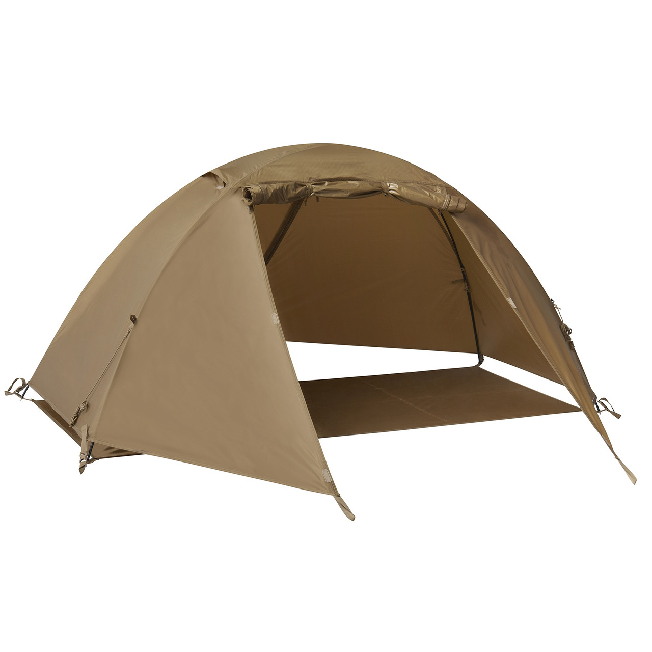 Kelty 1 Man Field Tent Import tent, showing only the rain fly and footprint