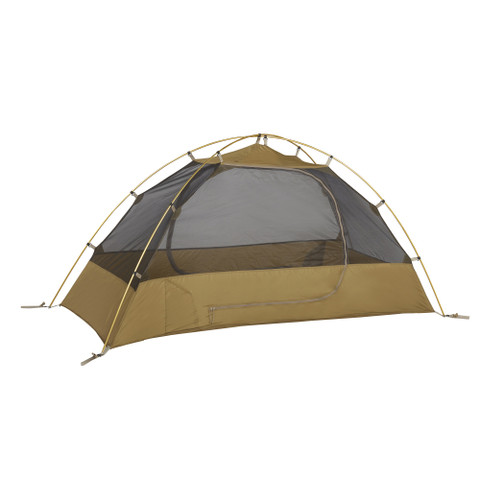 Kelty 2 Man Field Tent Import tent, brown, shown with rain fly removed
