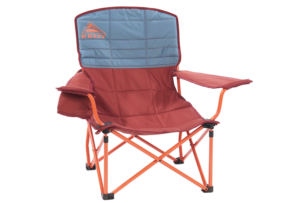 Kelty Discovery Lowdown chair, blue/red
