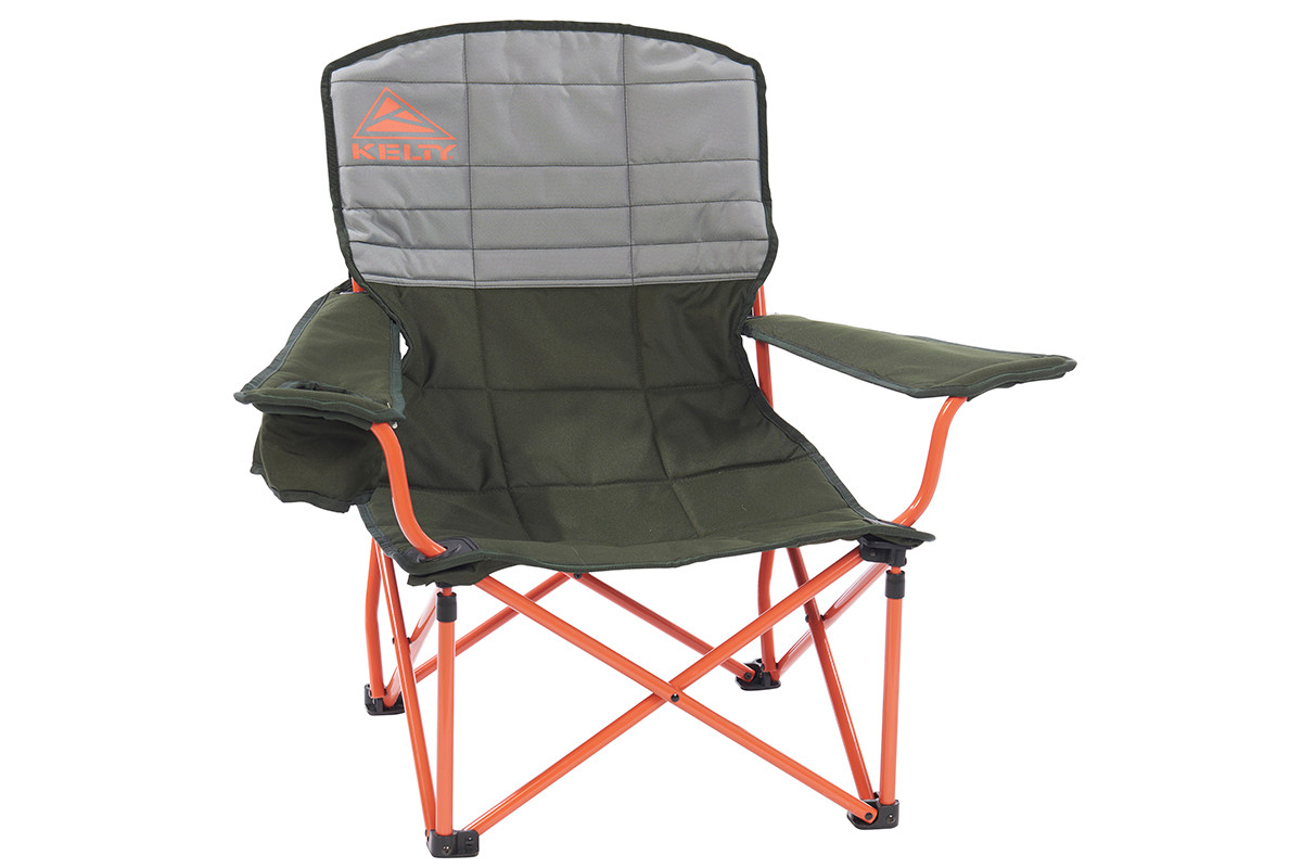 Kelty Discovery Lowdown chair, gray/green