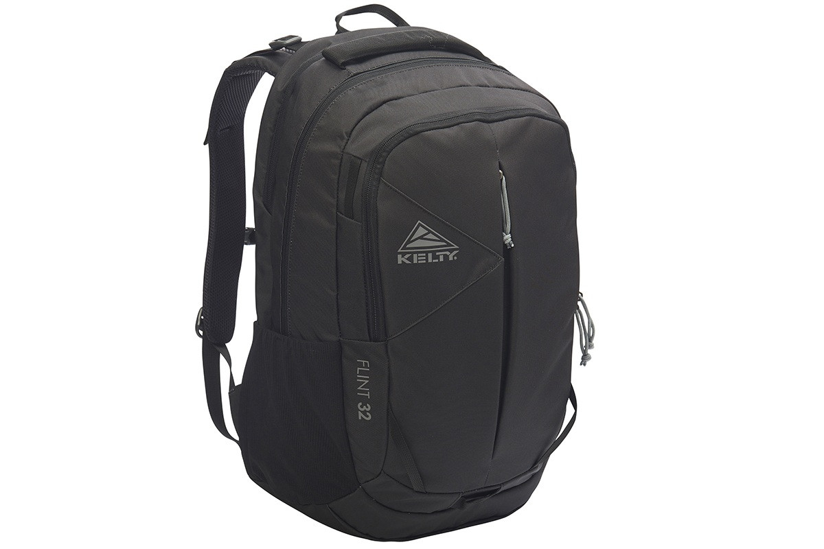 Kelty Flint 32 daypack, Black, front view