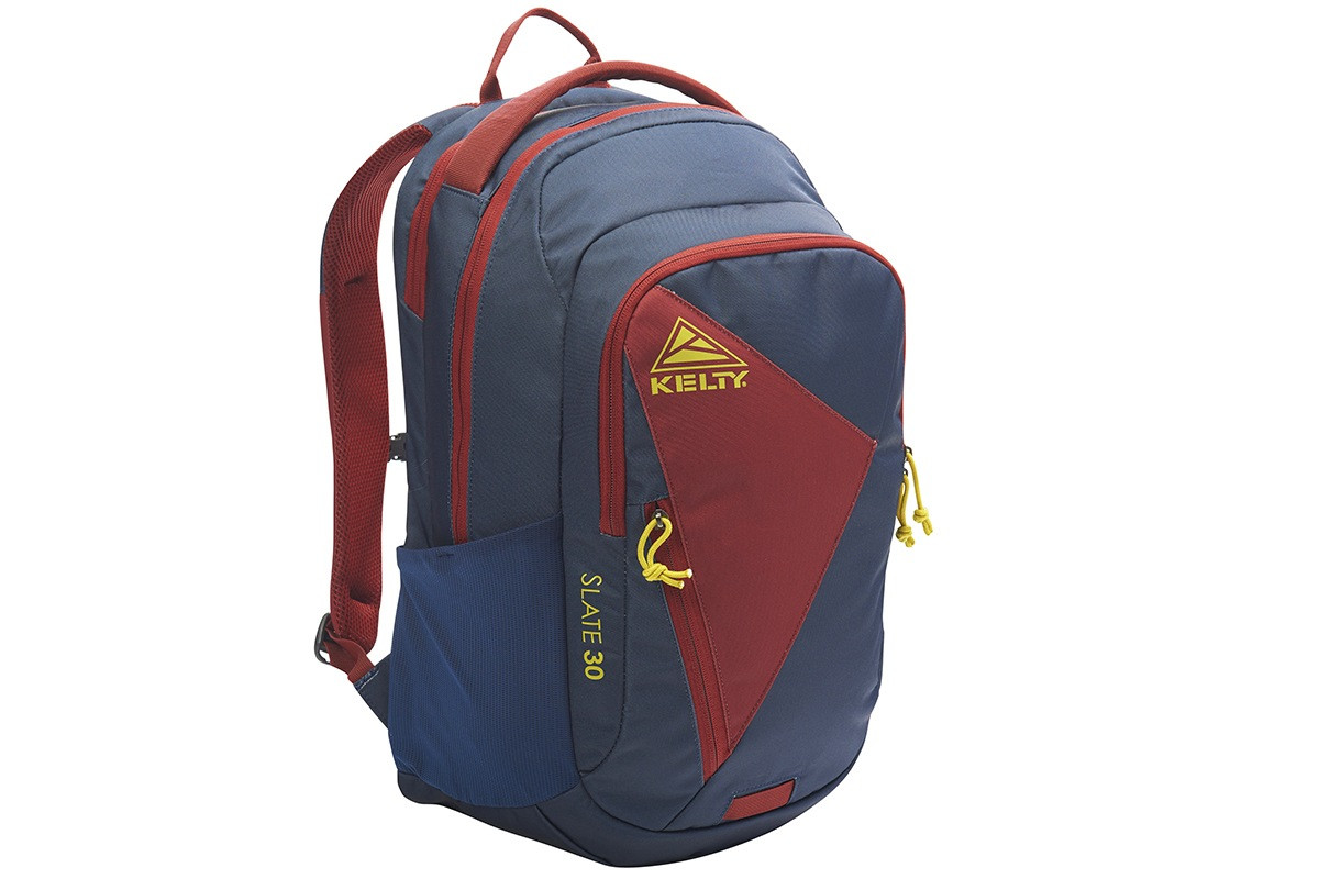 Kelty Slate 30 Daypack, Midnight Navy/Red Ochre, front view