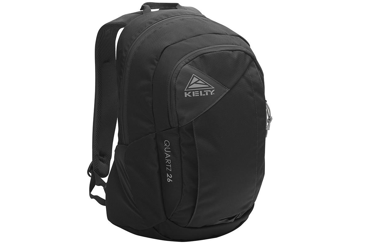Kelty Quartz 33 Daypack, Black, front view