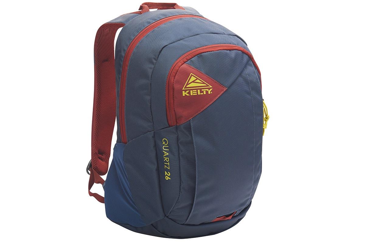 Kelty Quartz 33 Daypack, Midnight Navy/Red Ochre, front view