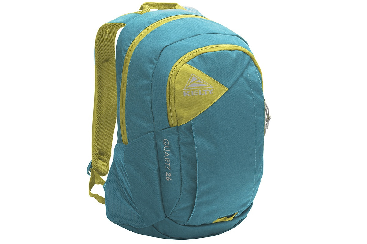 Kelty Quartz 33 Daypack, Lyons Blue/Warm Olive, front view
