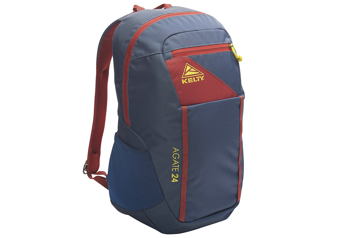 Kelty Agate 24 Daypack, Midnight Navy/Red Ochre, front view