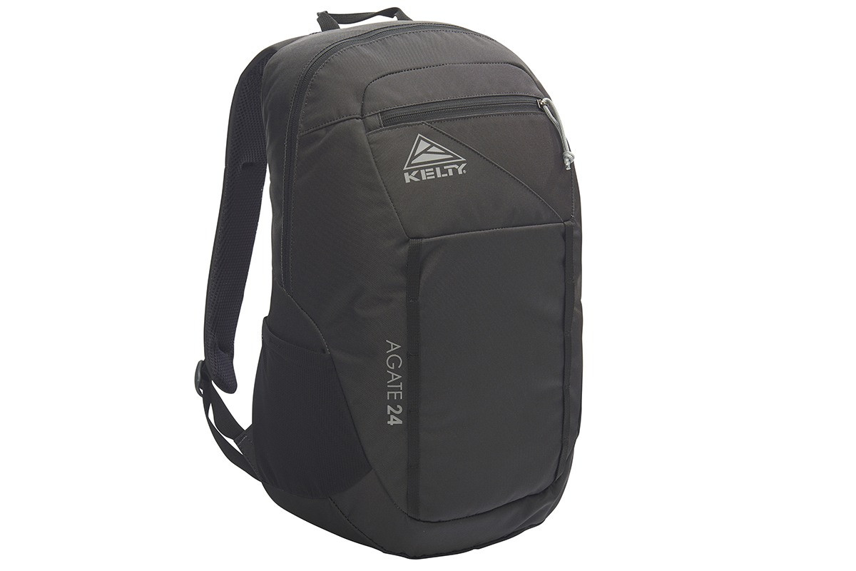 Kelty Agate 24 Daypack, Black, front view
