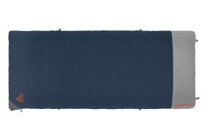 Kelty Callisto 30 sleeping bag, blue, shown fully zipped