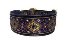 "1.5"" Anastasia Purple Swarovski Collar"