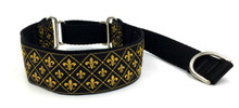 "1.5"" Fleur de Lys Private Prong Collar"