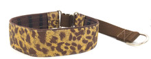 "1.5"" Cheetah Private Prong Collar"