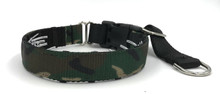 "1"" Camo Private Prong Collar"