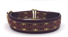 "1"" Burgundy Winchester Elite Collar"