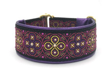 "1.5"" Pink and Purple Toulon Swarovski Collar"