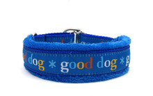 "1"" Blue Good Dog"