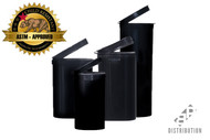Black Pop Top Containers