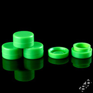 7ML Green Silicone Concentrate Containers
