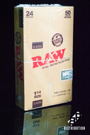 Raw Classic 1 1/4 Size Papers - 24 Books / Box