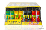 Clipper Lighter Mixed Leaf