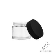 2oz Child Resistant Glass Jars