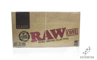 Classic RAW King Size Cones Retail Pack 32/3/96