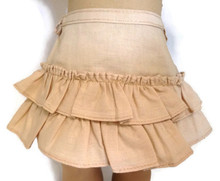 Ruffled Skirt-Tan