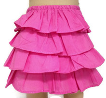 Ruffled Pink Skirt