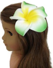 Hawaiian Hair Clip-Green