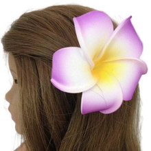 Hawaiian Hair Clip-Purple