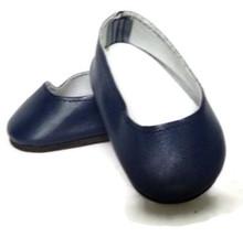 Slip On Dress Shoes-Navy