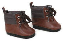 Hiking Boots-Brown