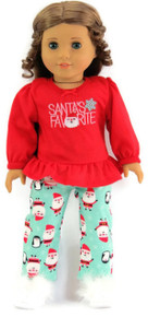 Santa's Favorite Sleeping Top & Flannel Pants