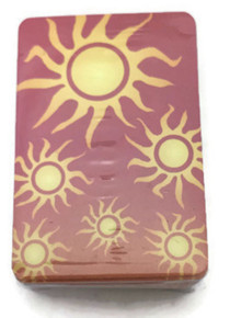 Mini Deck of Playing Cards-Sun