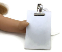 Mini White Clipboard