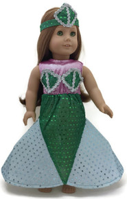 Mermaid Dress & Head Piece